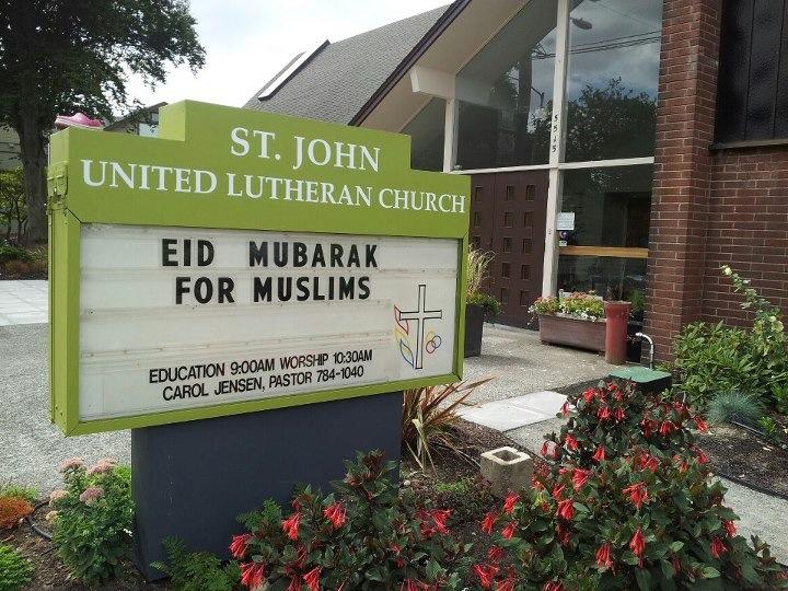 Christians wishing Muslims a Happy Eid!