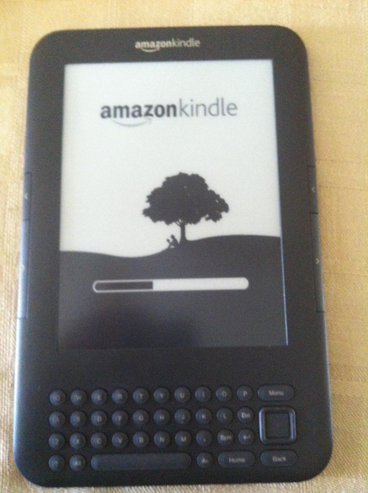 Amazon Kindle broken screen fixed.