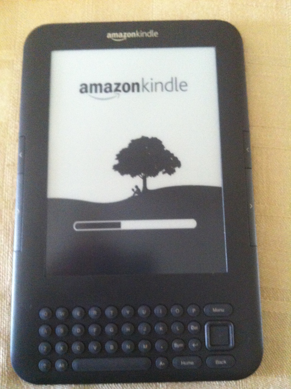 Amazon Kindle broken screen fixed.