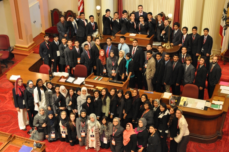 The last cohort I helped out with in 2011. Took this picture from the Public Gallery because of I couldn't frame the cohort that attended that year from the floor.