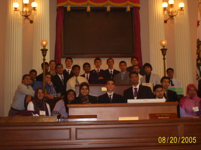 The first cohort of MYLP students. My brother was part of the first cohort and brought back this picture.