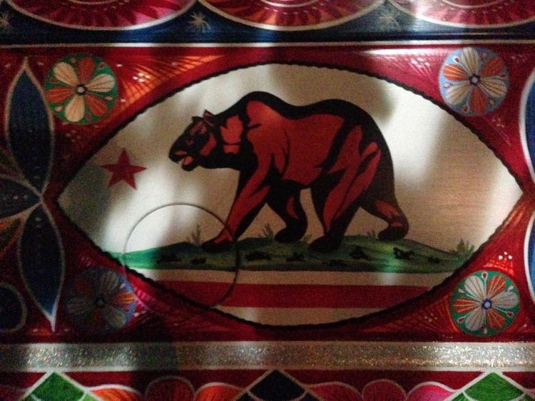 pakistani truck art in california